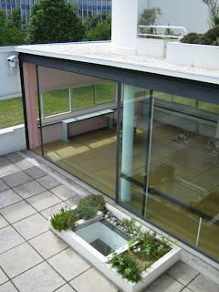 Tanisha Ameen Images Of Villa Savoye Terrace And Living