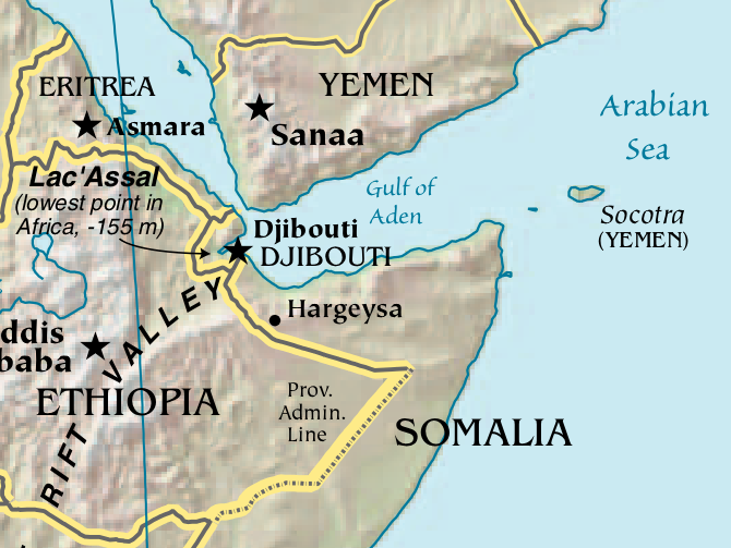Hiep learns to english: RED SEA and GULF OF ADEN (I)