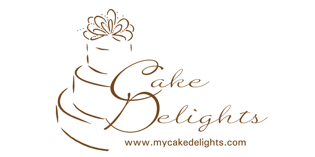 virginia beach graphic design cake delights logo