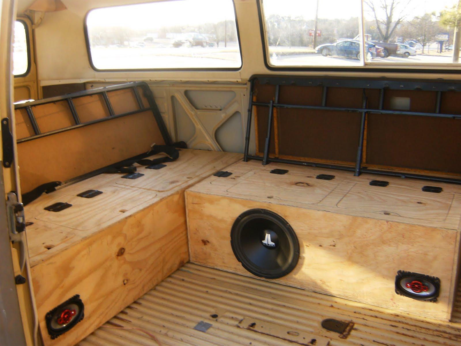 The adventures of betty the bus custom interior part 1 for Kombi van interior designs