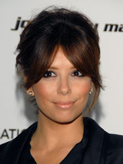 Eva Longoria Beautiful Hairstyle Pic