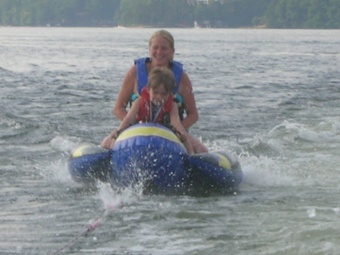 Lindsay and Tyler on the weinie bob!