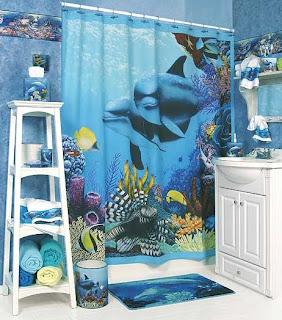 Bath Decor in Nautical, Tropical and Beach Inspired Designs