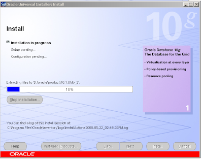 Hil & Co IT Solutions: Install Oracle Database 10g 10 1 0 2 0 on Windows