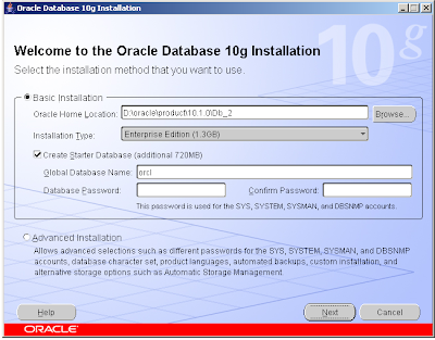 Hil & Co IT Solutions: Install Oracle Database 10g 10 1 0 2