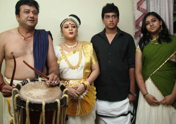 Parvathy Jayaram In Mohiniyattam Dress