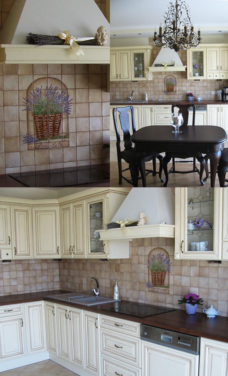 Dekory Do Kuchni I Nie Tylko Ręcznie Malowane Lawenda W