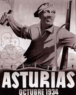 Frente popular, revolución de Asturias, poder obreo