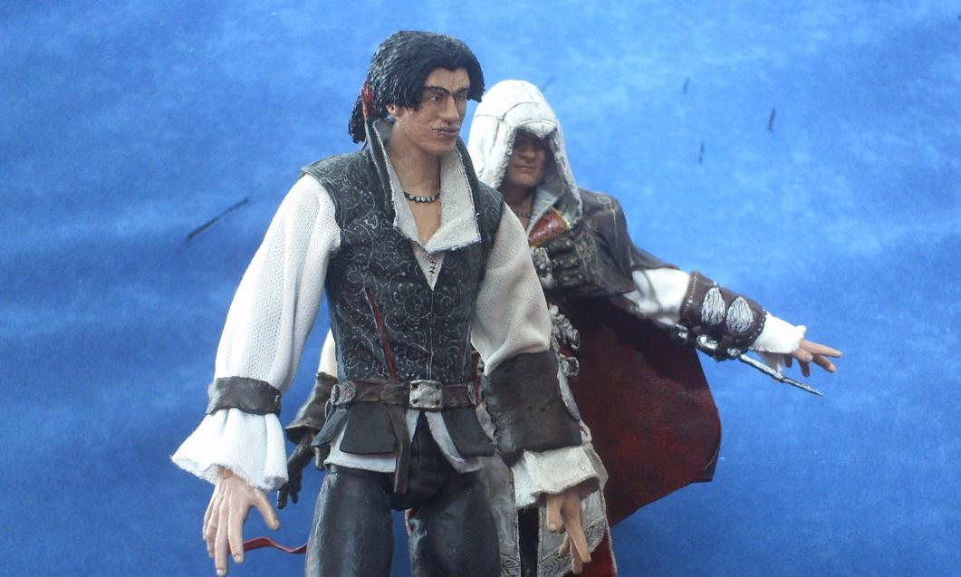 Somethinggerman Young Ezio Auditore And Travis Wip
