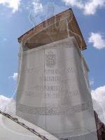 le clocher de l'église Jean XXIII de Sartrouville