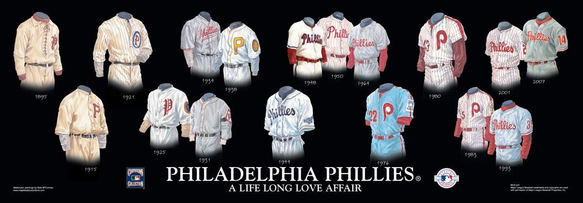 Philadelphia Phillies Uniform and Team History  108de3168