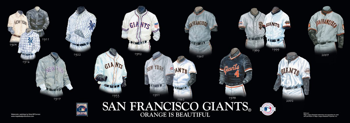 reputable site 336c7 e1243 San Francisco Giants Uniform and Team History | Heritage ...