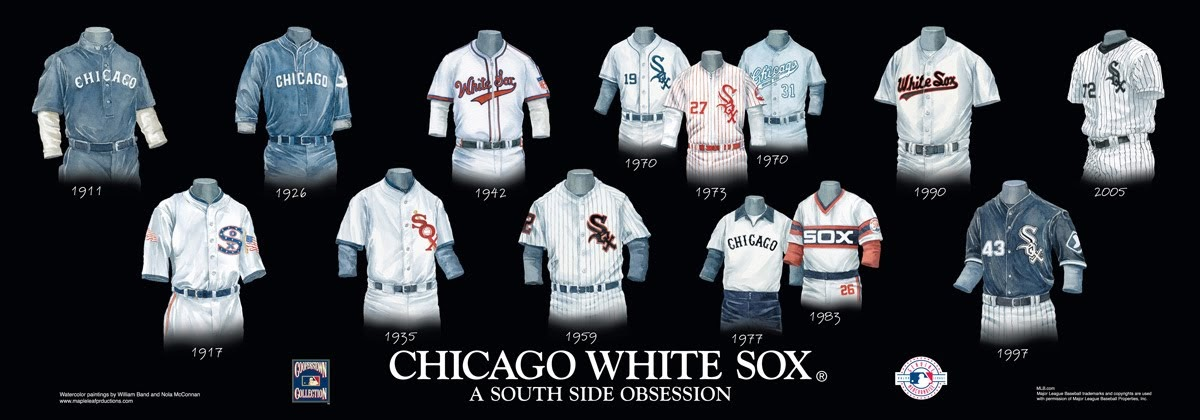 chicago white sox uniform and team history heritage