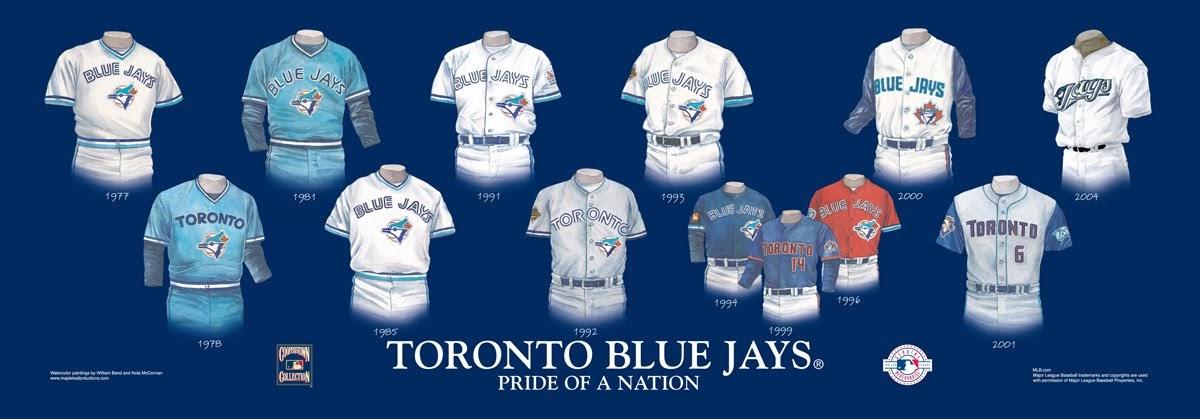 Toronto Blue Jays Uniform And Team History Heritage