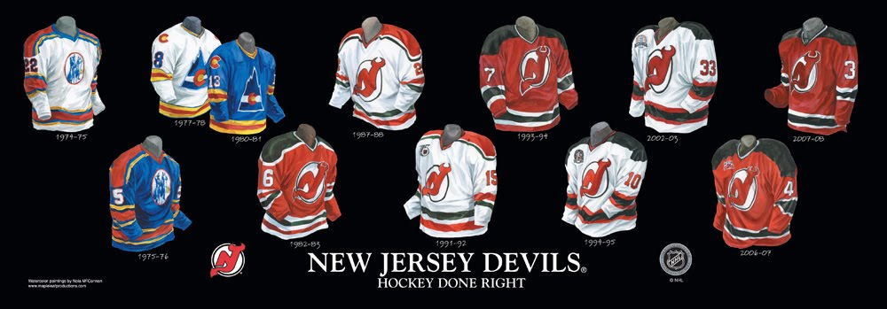low priced 0ed29 b3cf1 New Jersey Devils - Franchise, Team, Arena and Uniform ...
