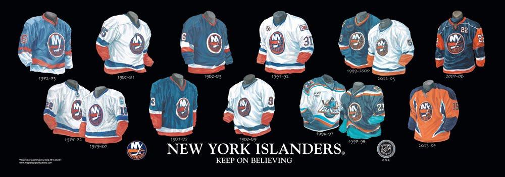 new york islanders jerseys through the years 4ed081ec1