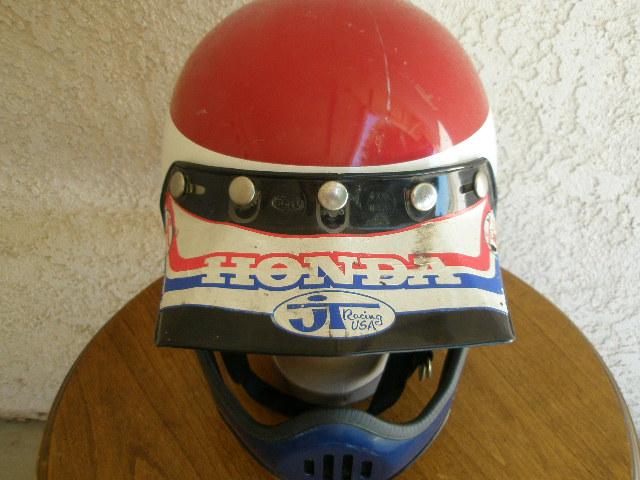 Bell Racing Helmets >> Vintage Motorcycle Helmets: Vintage Full Coverage Motocross Helmet