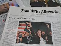 Zeitungen nach der Hessenwahl