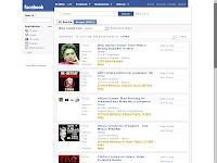 """Bildschirmfoto Facebook Gruppensuche nach """"Clinton"""""""