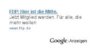 FDP-Werbung