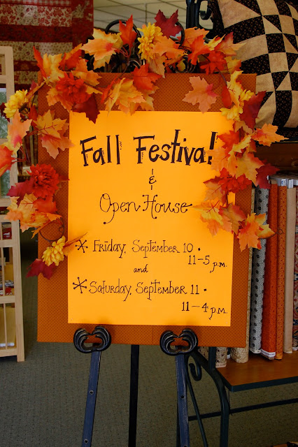 home decorating ideas for festivals pine needle quilt shop fall festival and open house 12692