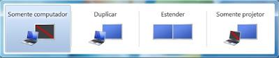 Primeiro Método para configurar o PC para usar dois monitores no Windows 7