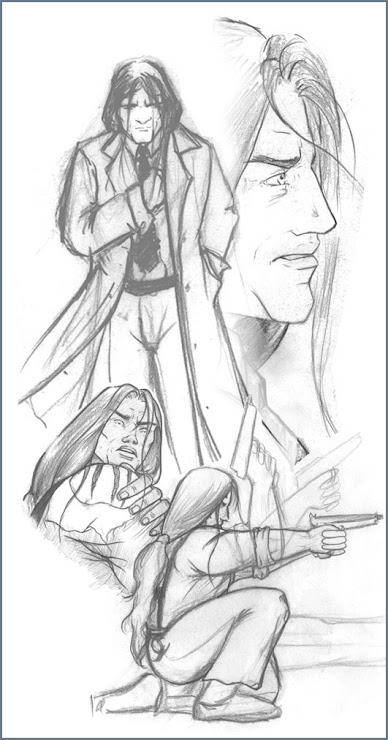 Characters Sketches (Beltane)