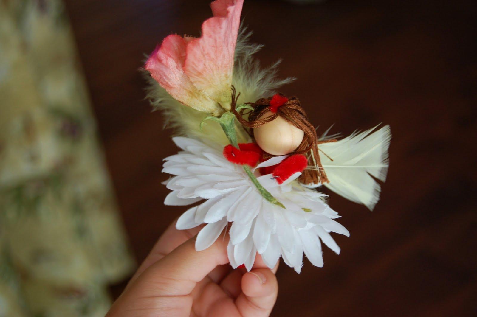 Ancient Hearth: Making Flower Fairies & Elves