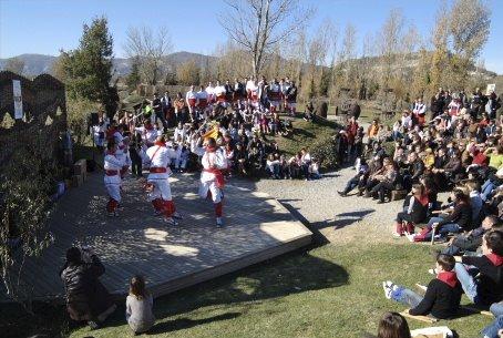 Trobada Bastonera de Malla a El Prat Verd, el 18 de novembre de 2007