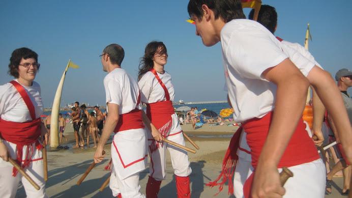 Bastoners de Malla i el Mediterrani de La Pineda (Vila-seca)