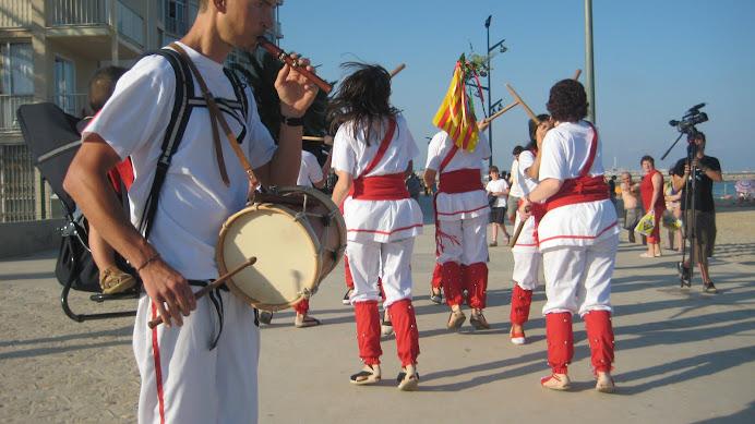 Processó dels Bastoners de Malla