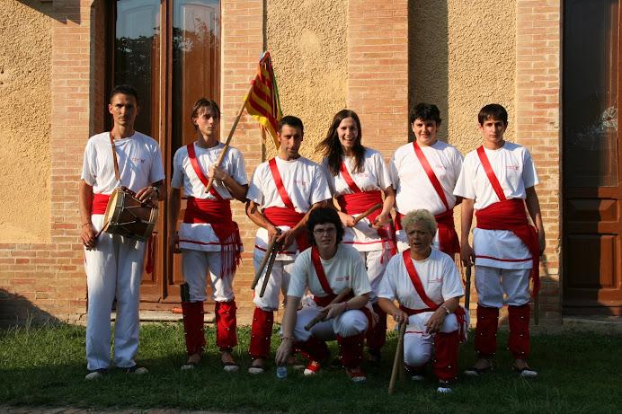 Bastoners de Malla a Llagostera, Fira del Segar i el Batre, 27 de juliol de 2008