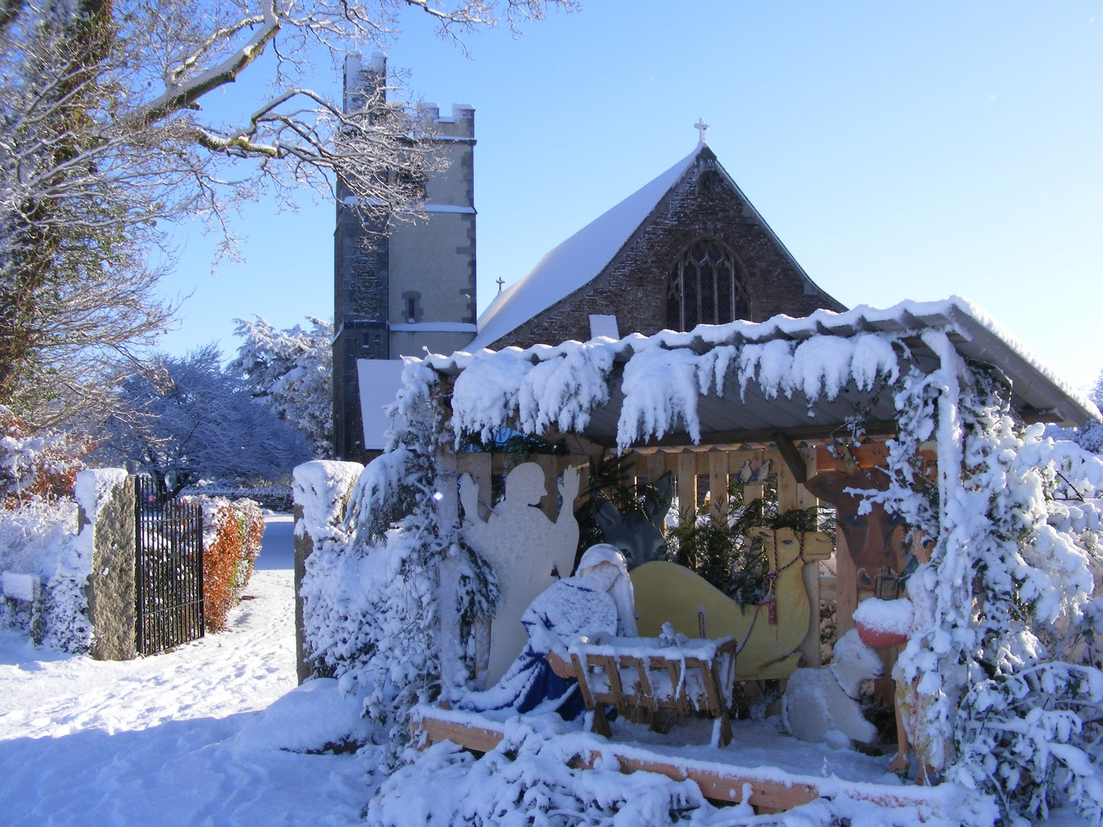 Life In Plymouth: Yelverton In The Snow