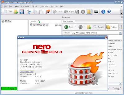 Portable Nero 8.3.2.1 Burning ROM