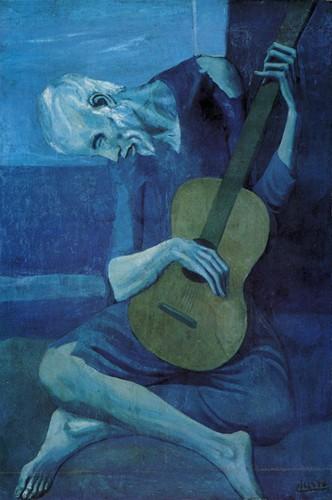 Pablo Picasso Blue Period 58
