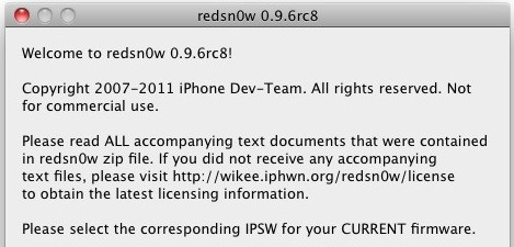 iphone & phones: Redsn0w 0 9 6rc8 Download Available with