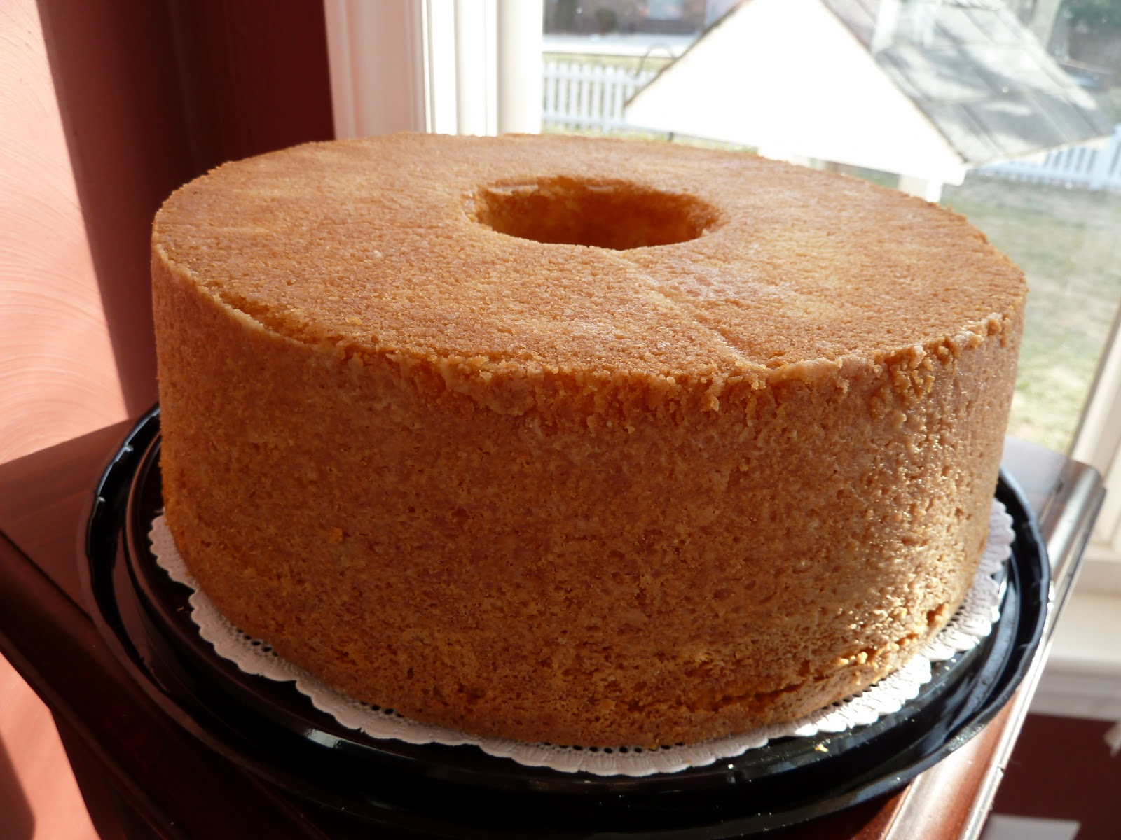 Chocolate Pound Cake Made With Buttermilk