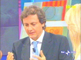 Arnaldo Colasanti in televisione