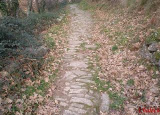 Antiguo camino en tornavacas ruta de carlos v