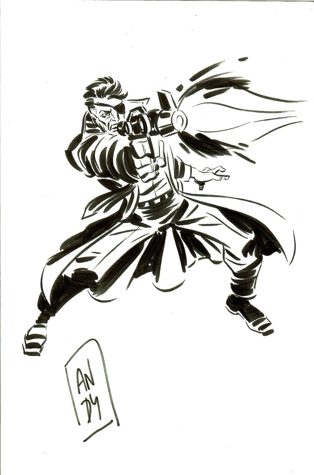 nick fury colouring pages