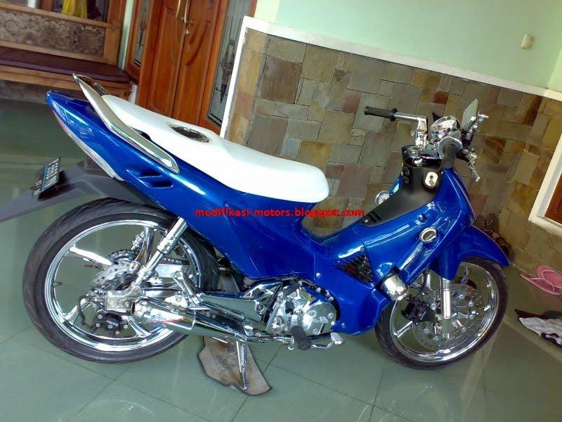 Motor Honda Supra X 125 Modification Previews