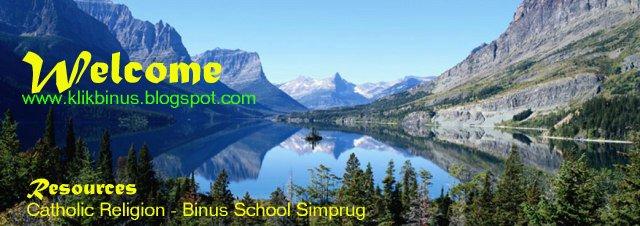 LINKS CATHOLIC RELIGION BINUS SCHOOL SIMPRUG