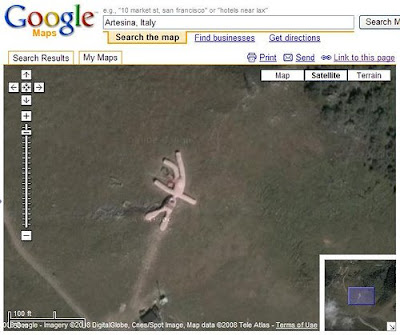 Bunny in Google Maps