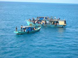 Menuju Kapal Pelni Bukit Raya