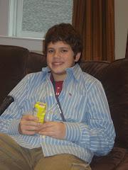 Hunter, age 13