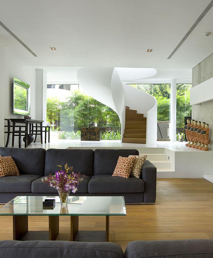 Diseno de casa en singapur dise o de casas home house design - Diseno interior casas ...