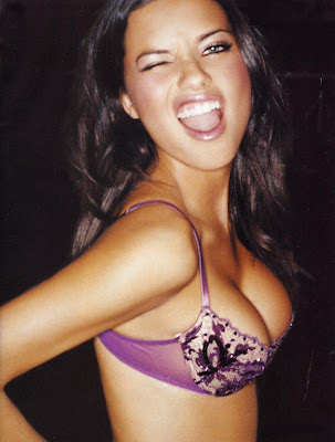 Adriana Lima blogger pictures 2009