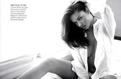 Adriana Lima is abundantly adult in Elle