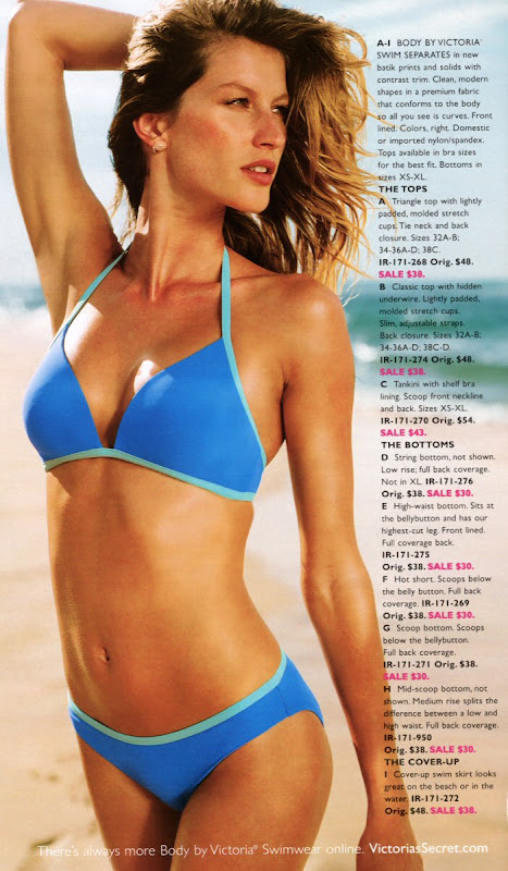 Gisele Bundchen - Bikini Pics