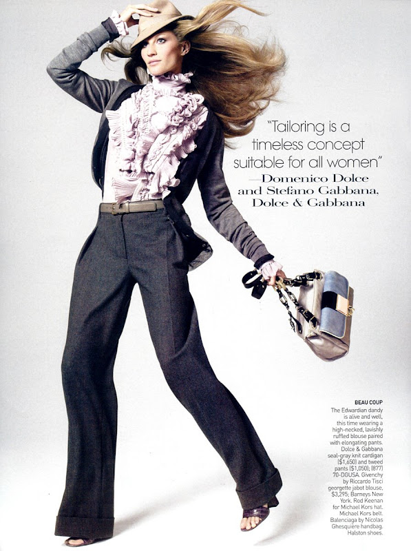 Gisele Bundchen in Vogue Aug 2008